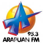 Logo da emissora R�dio Arapuan 95.3 FM