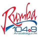 Logo da emissora Radio Rumba 104.9 FM