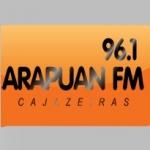 Logo da emissora R�dio Arapuan 96.1 FM