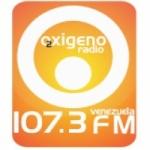 Logo da emissora Radio Oxigeno 107.3 FM