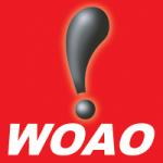 Logo da emissora Radio WOAO 88.1 FM