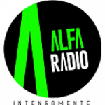 Logo da emissora Radio Alfa 104.1 FM