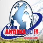 Logo da emissora Radio Andina 106.1 FM