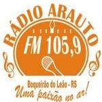 Logo da emissora R�dio Arauto 105.9 FM
