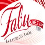 Logo da emissora Radio Fabu 105.7 FM
