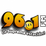 Logo da emissora Radio La Suprema Estacion 96.1 FM