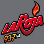 Logo da emissora Radio La Roja 93.7 FM