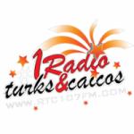 Logo da emissora Radio Turks & Caicos 107.7 FM