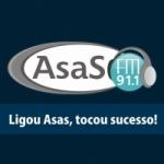 Logo da emissora Rádio Asas 91.1 FM