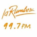 Logo da emissora Radio La Rumbera 99.7 FM