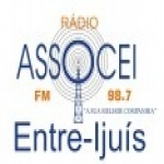 Logo da emissora Rádio Assocei 98.7 FM