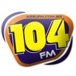 Logo da emissora R�dio Ass� 104.9 FM
