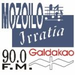 Logo da emissora Radio Mozoilo Irratia 90 FM