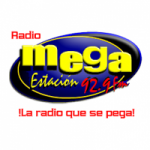 Logo da emissora Radio Mega Estacion 92.9 FM