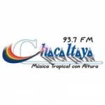 Logo da emissora Radio Chacaltaya 93.7 FM