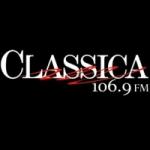 Logo da emissora Radio Classica 107.1 FM