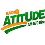Logo da emissora Rádio Atitude 670 AM