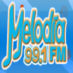 Logo da emissora Radio Melodia 99.3 FM