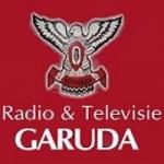 Logo da emissora Radio Garuda 105.7 FM