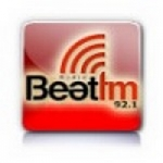 Logo da emissora Radio Beat 92.1 FM