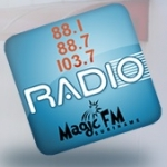 Logo da emissora Radio 10 Magic 88.1 FM