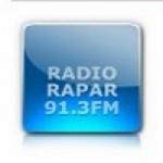 Logo da emissora Radio Rapar 91.3 FM