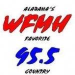 Logo da emissora WFMH 95.5 FM