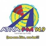 Logo da emissora Rádio Ativa 94.9 FM