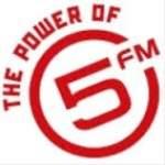Logo da emissora Radio 5FM 98 FM