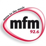 Logo da emissora Radio Matie 92.6 FM