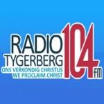 Logo da emissora Radio Tygerberg 104.3 FM