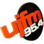 Logo da emissora Radio UJ 95.4 FM