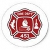 Radio firemen Red Bluff Bombeiros