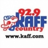 KAFF 92.9 FM Country