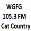 WGFG 105.3 FM Cat Country