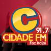 Rádio Cidade Foz Itajaí 91.7 FM