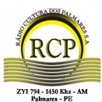R�dio Cultura dos Palmares 1450 AM