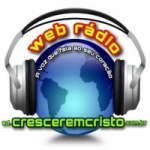 Logo da emissora Web R�dio AD Crescer Em Cristo