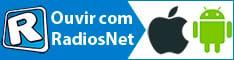 Baixe o RadiosNet e ouça milhares de rádios no seu celualr ou tablet