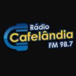 Logo da emissora Rádio Cafelândia 98.7 FM