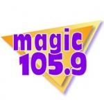 Logo da emissora Radio WXMK 105.9 FM