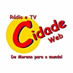 Logo da emissora Rádio Cidade Moreno