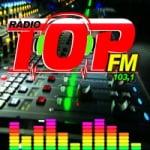 Logo da emissora Rádio Top 103.1 FM