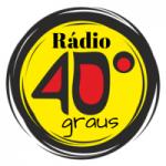 Logo da emissora Rádio 40 Graus