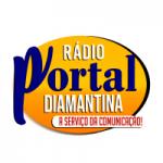 Logo da emissora Rádio Portal Diamantina