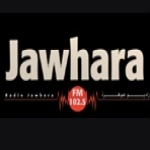 Logo da emissora Radio Jawhara 102.5 FM