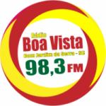 Logo da emissora Rádio Boa Vista FM