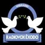 Logo da emissora Rádiovox Exôdo