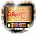 Logo da emissora Estação Nova FM