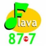Logo da emissora Flava 87.7 FM